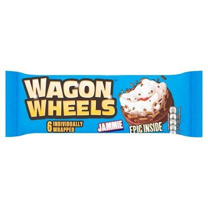 Picture of BURTONS WAGON WHEELS JAMMIE 6 PK 229g