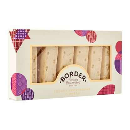 Picture of BORDER LUXURY SHORTBREAD FINGERS 160g